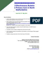 Clinical Effectiveness Bulletin no. 64 May 12