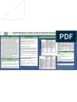 Inpatient Management of Warfarin Therapy by Pharmacists Compared to Physicians Poster Draft 1