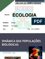 Dinâmica das populações biológicas-B29