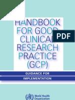 Handbook for Gcp