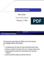 Vasicek Model, Simple