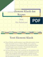 Teori Ekonomi Klasik Dan Keynes