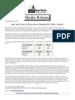 Nndsb 2012 Osslt Results, June 13, 12