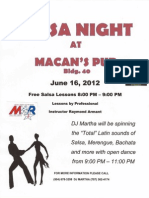 June 16th Salsa Dance Flyer 3