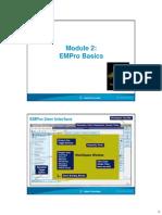 EMPro Workshop - Module2 - EMPro Basics Version 2.0