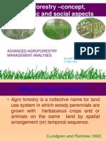 Agroforestry-economics MAKRAND GUJAR