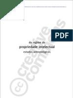 Tomo Editorial - Do Regime de Propriedade Intelectual