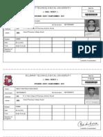 Bpharm 1st Sem Ram Exam