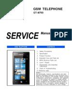 I8700 Service Manual