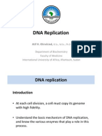 DNA Replication 2012