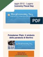 Lugano 22 Maggio - Potsdamer Platz - Il Simbolo Della Parabola Di Berlino