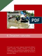 08. Capítulo 6. Desastres naturales