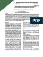 Antioxidant and Antimicrobial Activity-M.maderaspatana