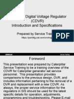 61119772 CDVR Service Training Presentation 2