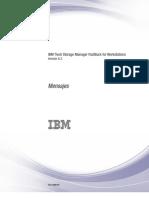 06.- IBM Tivoli Storage Manager FastBack 6.1.3 Mensajes