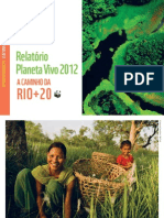 Relatorio Planeta Vivo 2012 (WWF - Global Footprint Network)