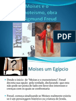 Moises e o  Monoteísmo, obra de Sigmund