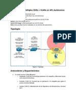 Configuración Multiples SSIDs + VLANs en APs Autonomos
