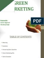 Green Marketing Final PPT