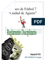 Régimen Disciplinario Torneo