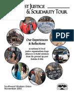 GCJ&S Tour Report