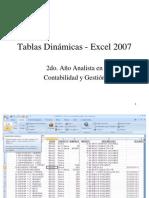 Tablas Dinámicas - Excel 2000