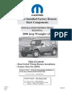 Jeep Remote Start Install