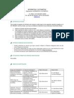 Guía deldoctorado de doctorado en Informática y automática