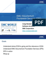 070524 EMC Documentum Foundation Services (Randall, SDC07)
