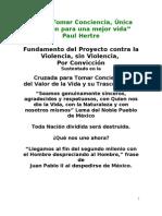 Libro Tomar Conciencia of 2003