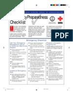 Survival - Emergency Preparedness Checklist