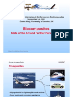 Biocomposites - State of the Art and Further Perspectives
