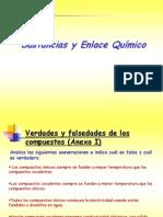 Presentacion Sustancias y Enlace Quimico 5ta Sesion