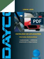 Catalogo Dayco de Correias