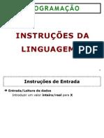 03 - LinguagemC - Atribuicao e ES