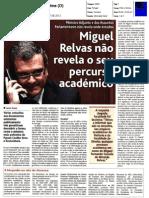 MIGUEL RELVAS ESCONDE PERCURSO ACADÉMICO