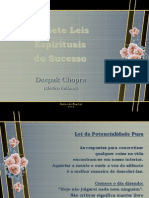 Crystal - Deepak Chopra - Leis Do Sucesso