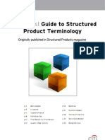 Citi Guide to Structured Product Terminology