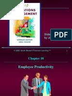 g Eproductivity 18