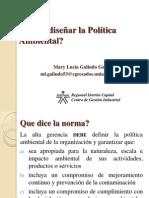 2. Diseño de Política Ambiental
