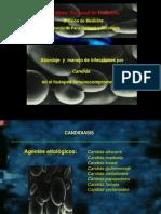 Abordarje y Manejo de Inf Por Candida en Px Inmuno Comp