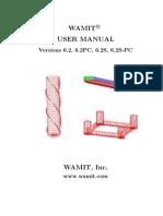 Manual Wamit 6.2