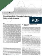 Cap 9 - Espectrometria de Absorçao Atomica e de Fluorescicia At