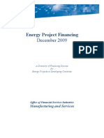 Energy Project Financing Directory