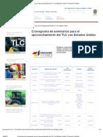 Cronograma de Seminarios Para El Aprovechamiento Del TLC Con Estados Unidos _ Proexport Colombia