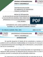 PROYECTO INTEGRADOR-DISEÑO DE AMBIENTES DE APRENDIZAJE-EXPOSICION FINAL