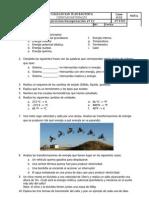 Ejercicios Recuperación 2º Evaluación.