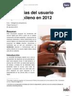 Paper Claves y Tendencias Del Usuario Digital Chileno 2012