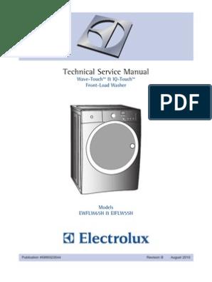 575 Electrolux Washer Front Load 5995523536 | Washing