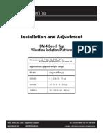 Bm4 Minus k Vibration Isolator Instructions